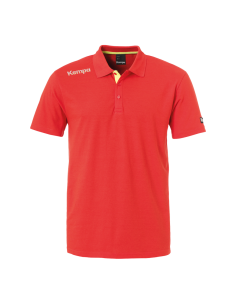 Kempa core polo shirt (rood)